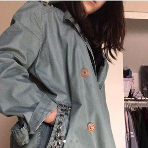 Oversized Long Army Jacket